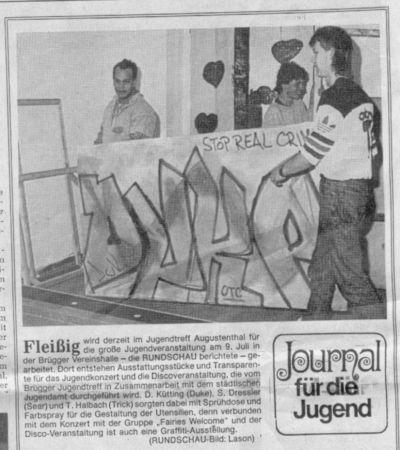 1987 Ausstellung mit Tricks