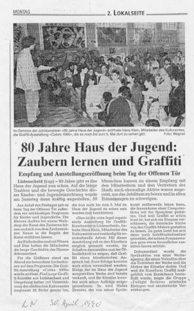 1990 Haus der Jugend