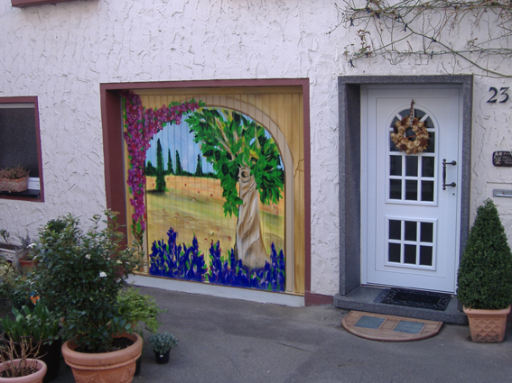 Garagentor Toskana 2007