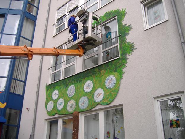 Seniorenzentrum Waldstadt Iserlohn Graffiti