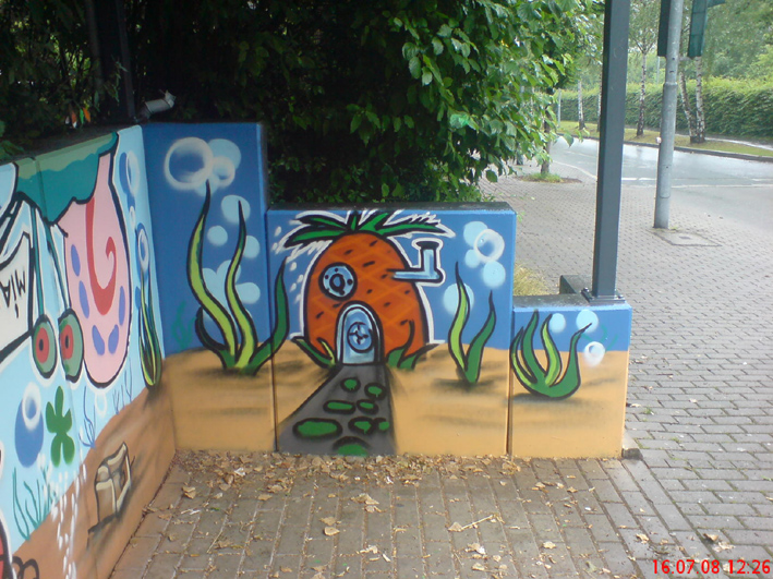 Gelber Morgen Menden Workshop Graffiti