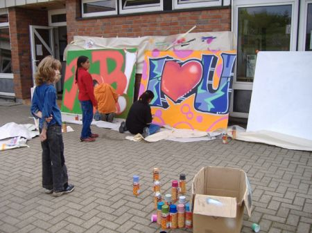 Nettenscheid Graffiti Workshop