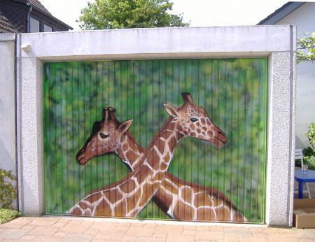 2006 Giraffen Garagentor