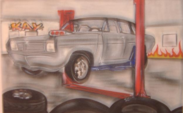 Leinwände Opel Kadett E