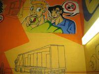 Bitte nicht essen Graffiti