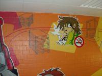 Bitte nicht rauchen graffiti