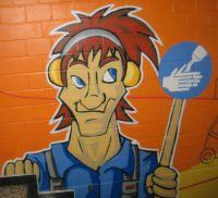 Haende Waschen Graffiti