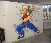 Ninja Graffiti Hairkiller