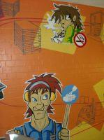 Rauchen Graffiti