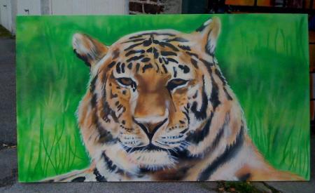 Tiger (Leinwand)