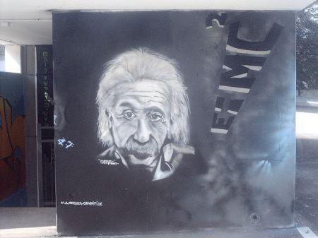 Graffiti Einstein