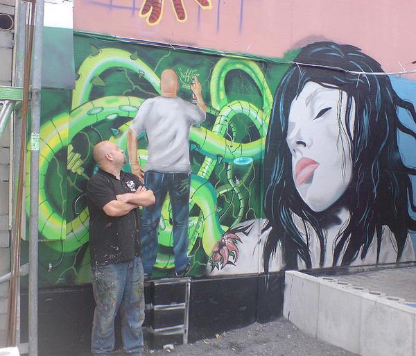 Graffiti Osterberg