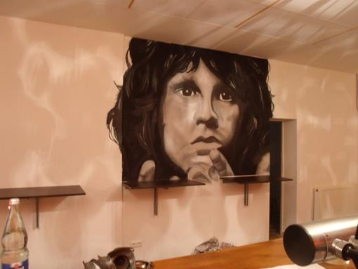 Jim Morrison Graffiti